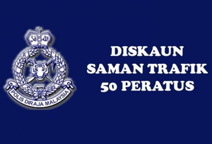 Diskaun Saman PDRM