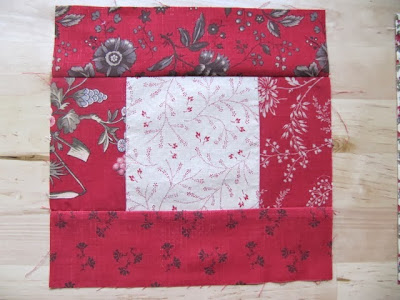 kitchen woodbox quilt block