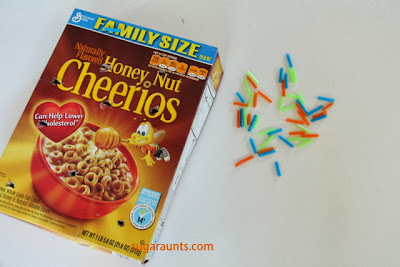 Cereal Box Tripod Grasp, Bilateral hand Coordination, Visual Scanning