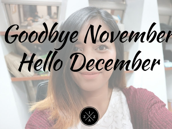Goodbye November, Hello December 2016