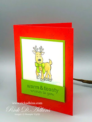Watercolor pencil tips and tricks using the Warm & Toasty Stamp Set click to learn more