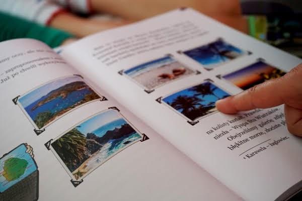 wyprawa na karaiby, książka dla dzieci