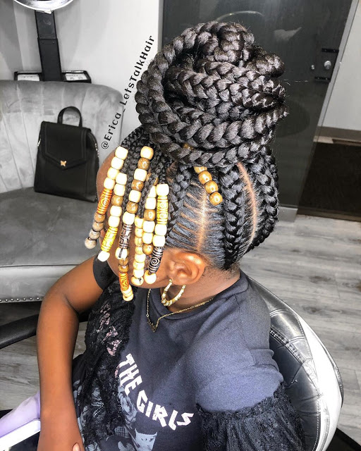 Fulani cornrow braids styles are the perfect winter hairstyle which will last for months ✘ 36 Amazing Fulani Cornrow Styles Ponytails For African Natural Hair