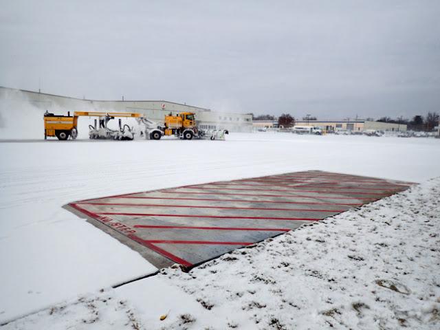 Heated Pavement