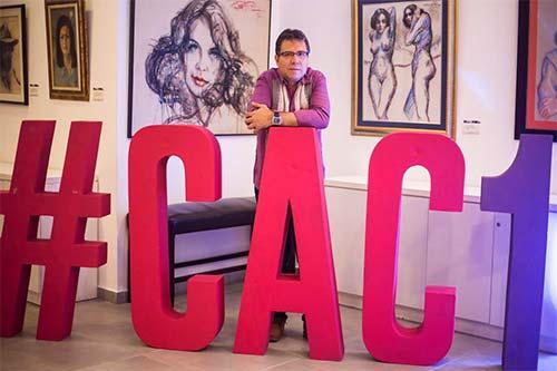 Alberto Salcedo Ramos.Foto tomada por Jorge Mejía Peralta en Nicaragua
