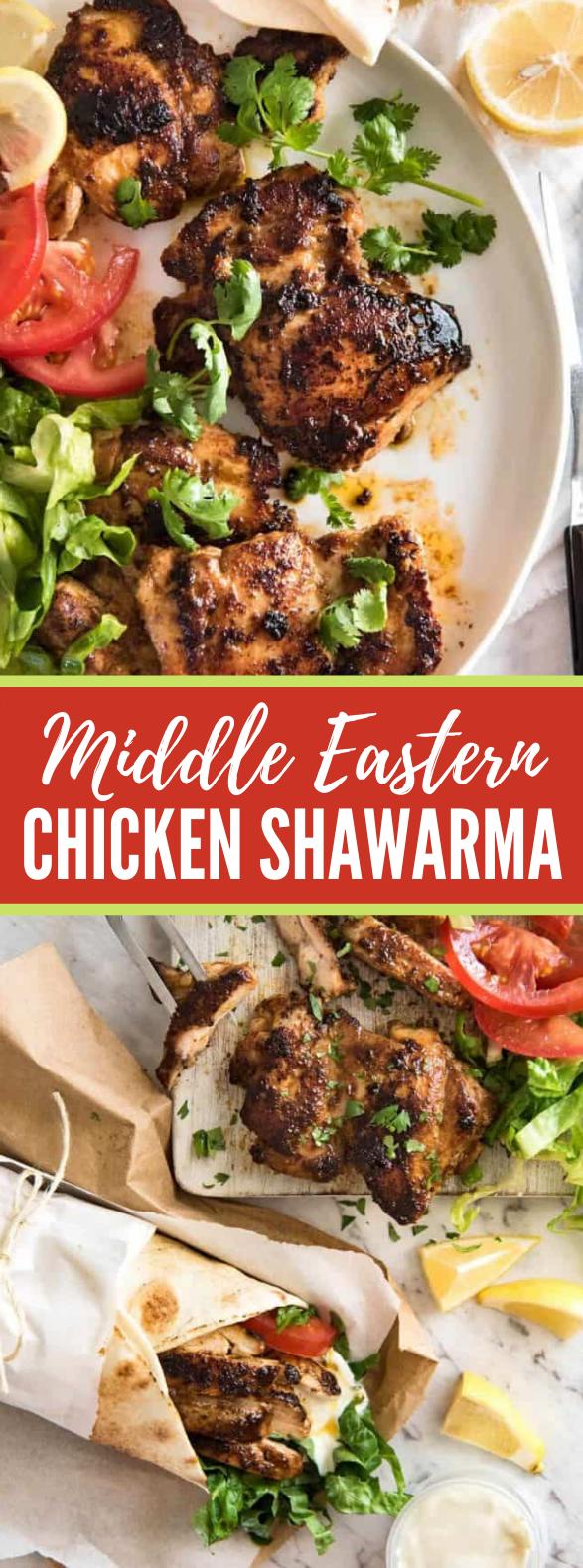 Chicken Shawarma (Middle Eastern) #dinner #comfortfood