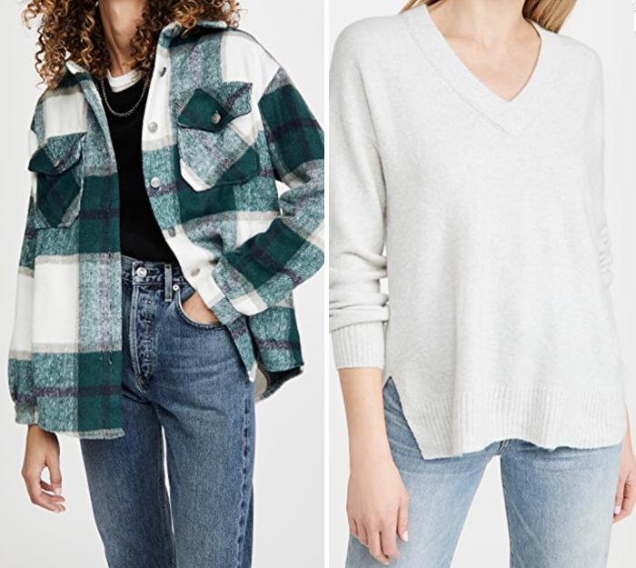 bb dakota plaid shopbop shacket shirt jacket