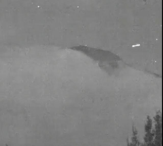 Mexico webcam Catches a UFO going inside a volcano.