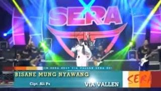 Lirik Lagu Via Vallen - Bisane Mung Nyawang