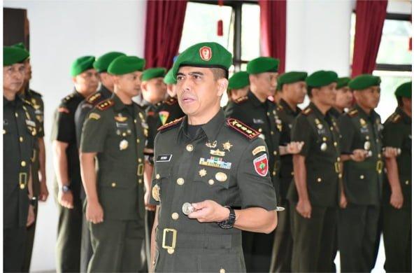 Dicopot Gara-gara Istri Nyinyir Soal Wiranto, Dandim Kendari Ternyata Baru 2 Bulan Menjabat
