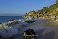 Ombak Pantai Tegal Wangi Bali