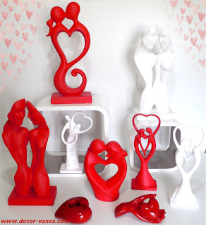ceramic figurines of love