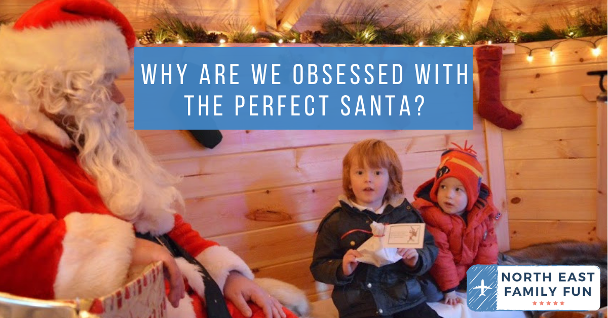 Why are we obsessed with the perfect Santa?