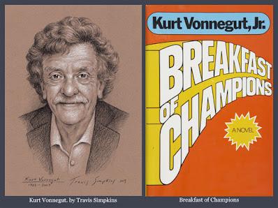 Kurt Vonnegut. Breakfast of Champions. Kurt Vonnegut Museum & Library. by Travis Simpkins
