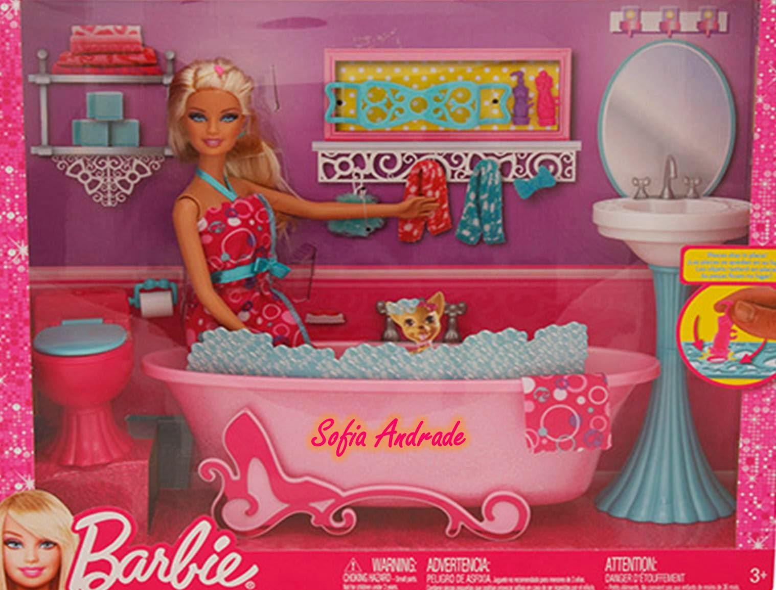 momento de relaxamento nessa banheira que é tudo de bom #AB2039 1518x1154 Banheiro Da Barbie De Papelão