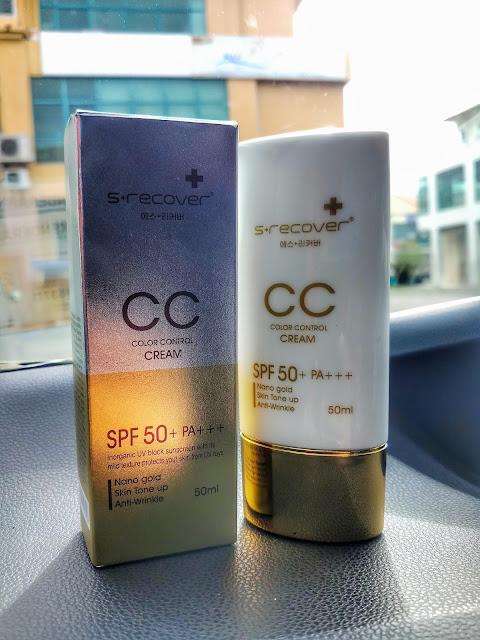 S+ Recover Gold Nano CC Cream dari Hansaegee Nature