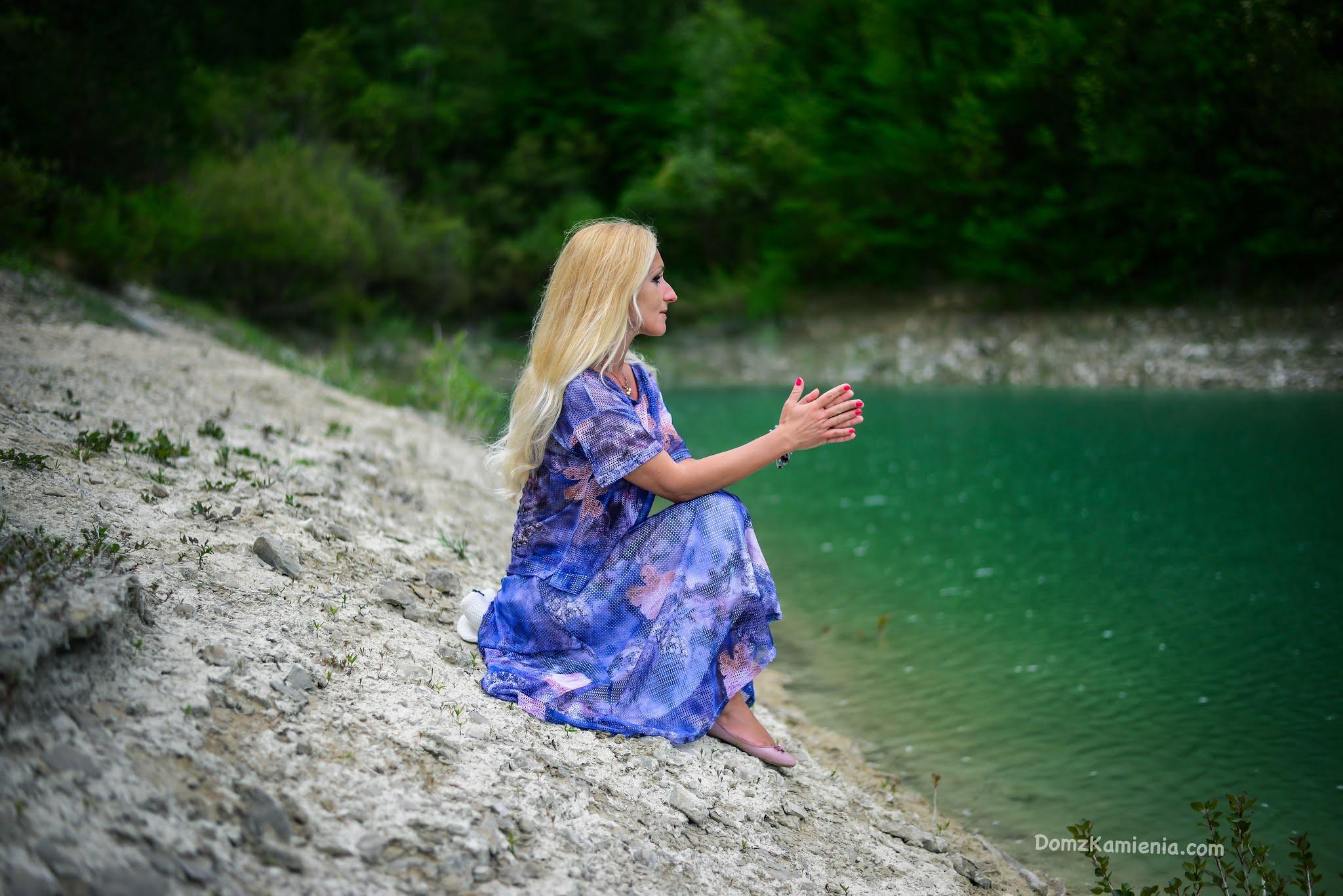 Kasia z Domu z Kamienia, lago di Bracanello, Lutirano