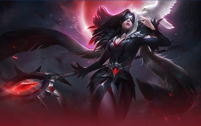 Pharsa Wings of Vengeance Heroes Mage of Skins Mobile Legends Wallpaper HD for PC