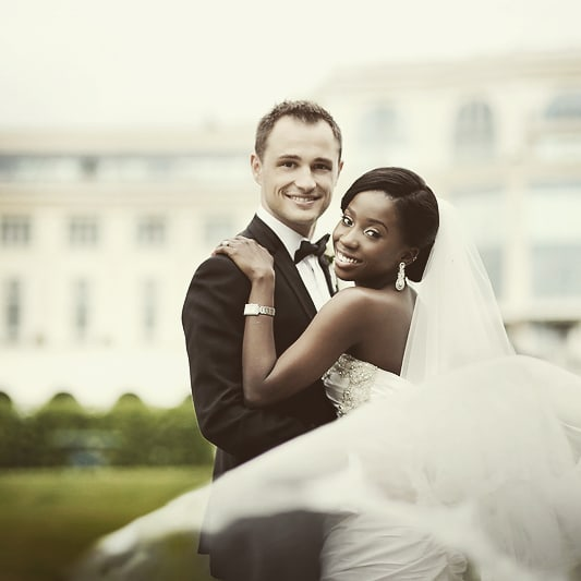 Interracial Couple Adanna- David Celebrates 4th Wedding Anniversary