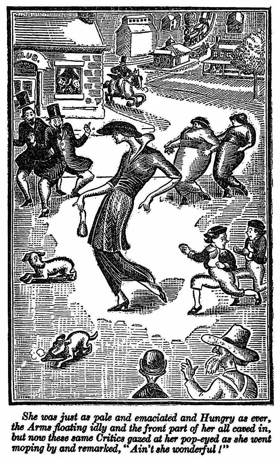 a John P. McCutcheon 1920 cartoon illustration
