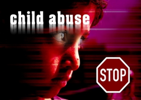 A child abuse stop sign.