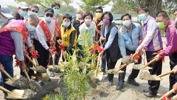 彰化縣植樹活動森存之道 捐發票換台灣原生種苗木
