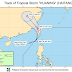 Tropical Storm Huaning enters PAR, signal no. 1 up over northern luzon