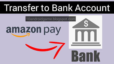 Transfer Amazon pay balance to Bank Account
