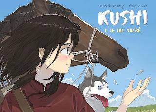 Kushi tome 1 - Le lac sacré aux éditions Fei