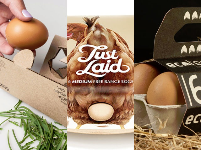 5 Eggs Packaging Design