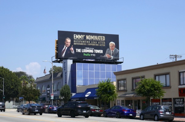 Looming Tower Emmy nominee billboard