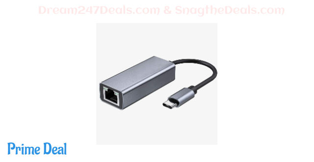 USB C to Ethernet Adapter 50% OFF