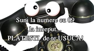 informatii numere de telefon cu 09 la inceput