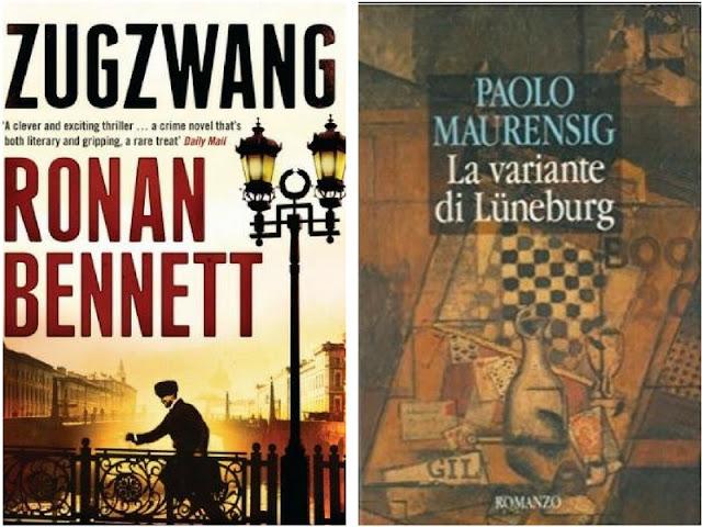 Romanzi ambientati nel mondo degli scacchi. La variante di Lüneburg e   Zugzwang. Mossa obbligata