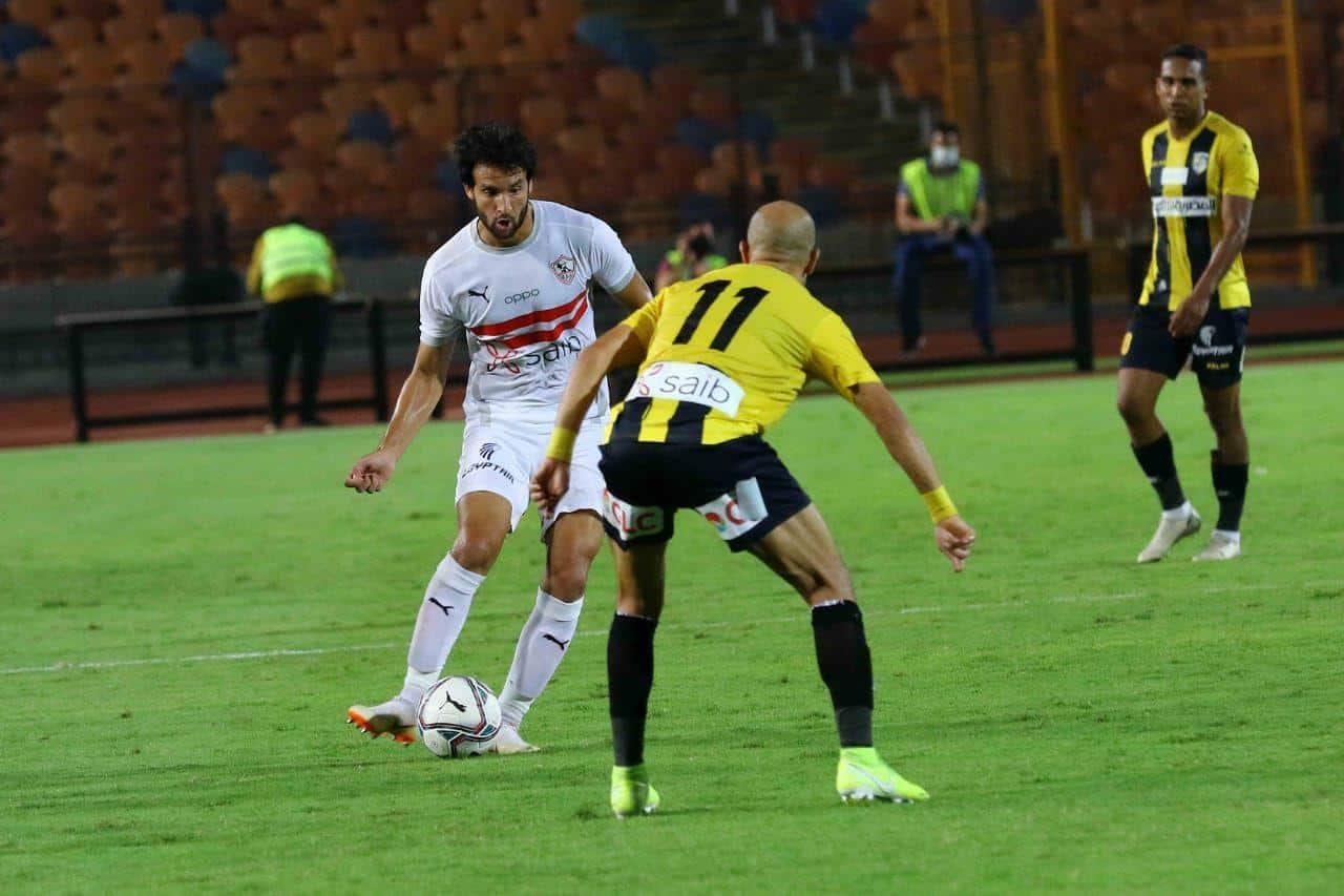موعد المباراة المؤجله للزمالك والمقاولون العرب الدوري المصري