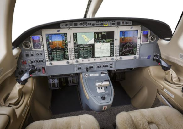 Eclipse 550 cockpit