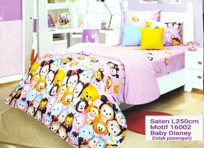 Sprei Katun Jepang Motif Baby Disney