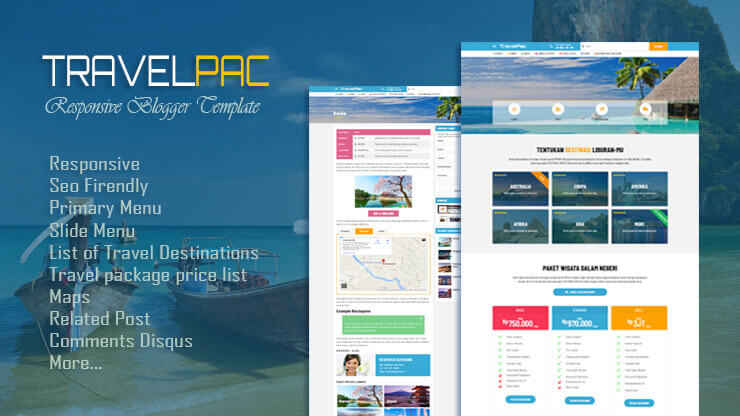 TravelPac Blogger Template