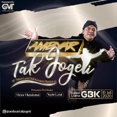 Konser Didi Kempot Ambyar Tak Jogeti GBK Jakarta