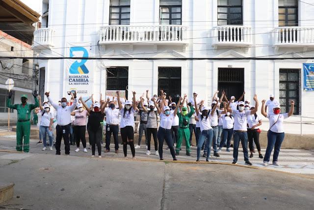 https://www.notasrosas.com/Primera Jornada de Urbanismo Táctico, se realizó en Riohacha