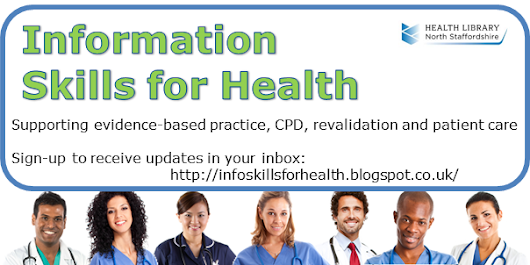 Welcome to the Information Skills for Health Blog