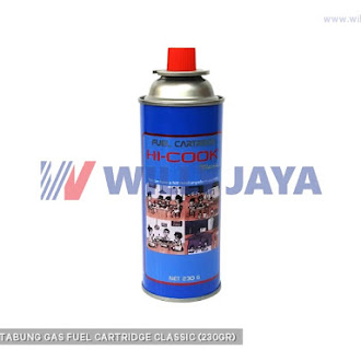 HICOOK - TABUNG GAS FUEL CARTRIDGE CLASSIC (230GR)