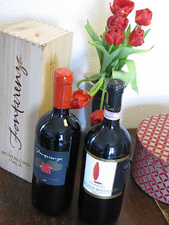 Fonterenza and Cupano Magnum bottles of Brunello and Rosso di Montalcino
