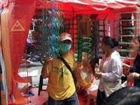 Tenda Cafe Tenda Jualan Tenda Kaki Lima Bahan PVC410