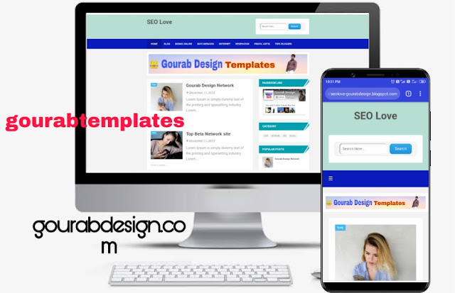 Seo love responsive blogger template