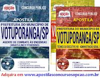 Apostila Prefeitura de Votuporanga SP 2017 - Material de estudo