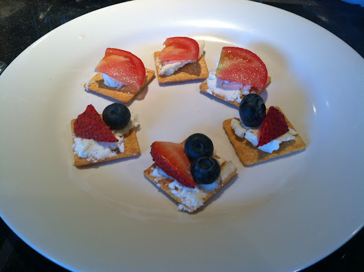 Red, White, and Blue Appetizer