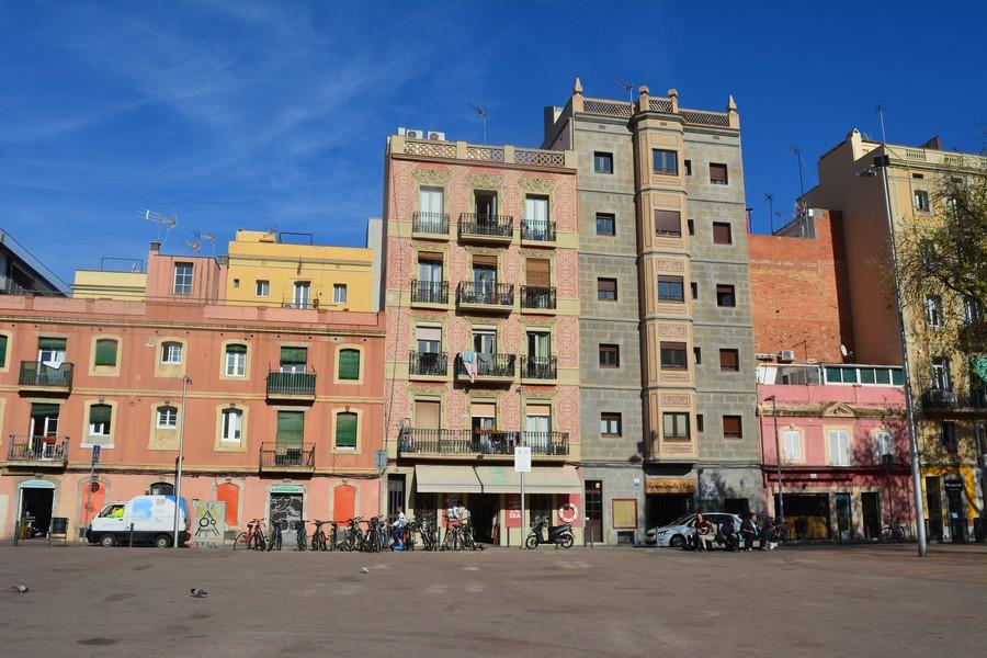 Place du marché Barceloneta