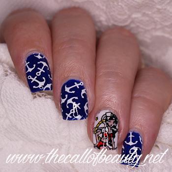 Nautical Manicure
