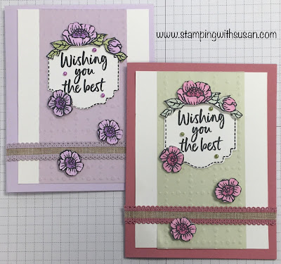 Stampin' Up!, Tags In Bloom, www.stampingwithsusan.com, Susan LaCroix, Label Me Lovely Punch, Stampin' Blends